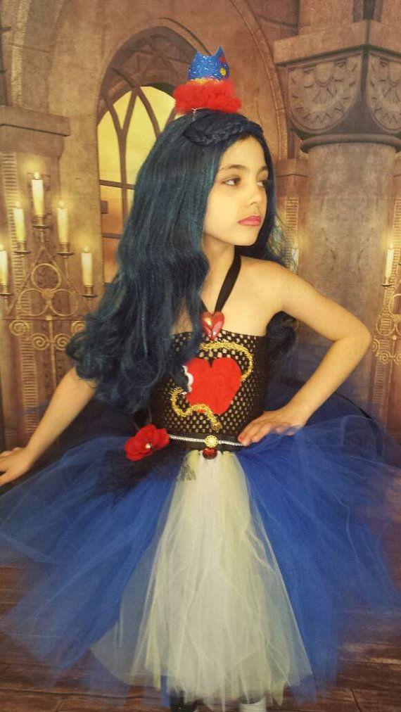 Evie Inspired Deluxe Tutu Dress Princess Tutu Dress