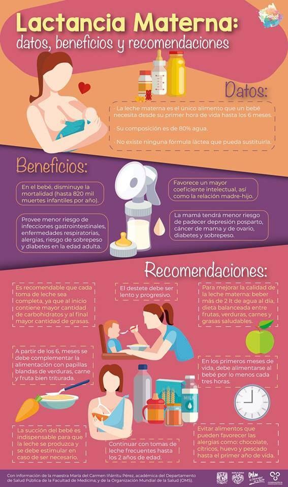 Lactancia Materna Datos Beneficios Y Recomendaciones Lactancia