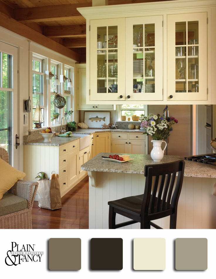 39 best images about paint colors on pinterest for Country kitchen color ideas
