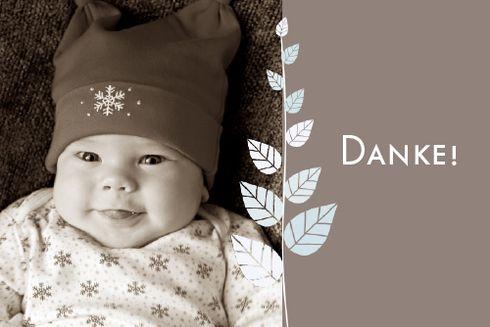 Geburtskarte Harmonie Foto by Tomoë für Rosemood.de #Blätter #Dankeskarte #Zen