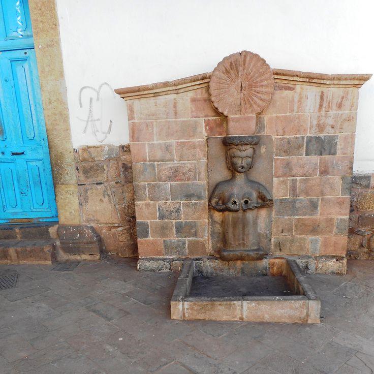 La femme fontaine, Cuzco
