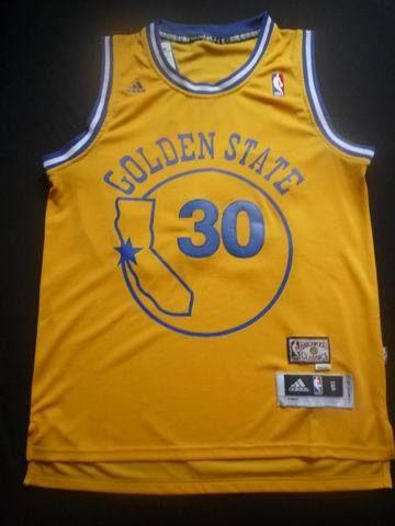 c1ffff659b5 ... 2014 Warriors 30 Stephen Curry Gold Throwback Stitched NBA Jersey  httpwww Golden State ...