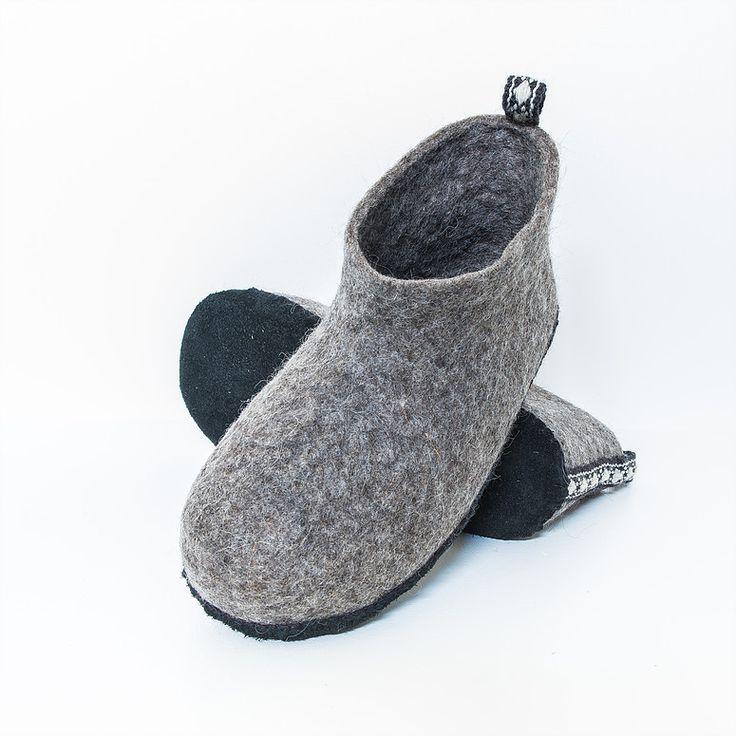 Felt slippers - 39/40 - € 65
