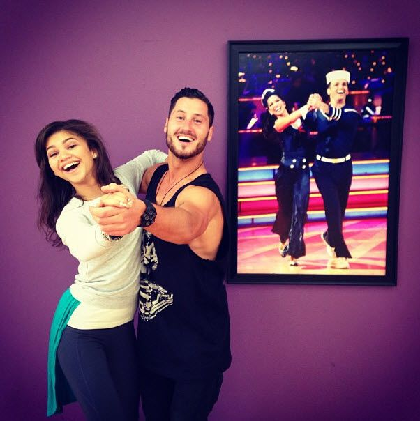 """DWTS"" Photo: Zendaya And Val Chmerkovskiy May 9, 2013"