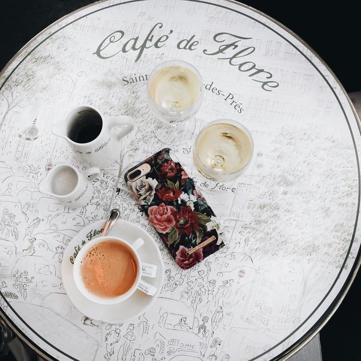 Antique Roses, fashion case, coffee.