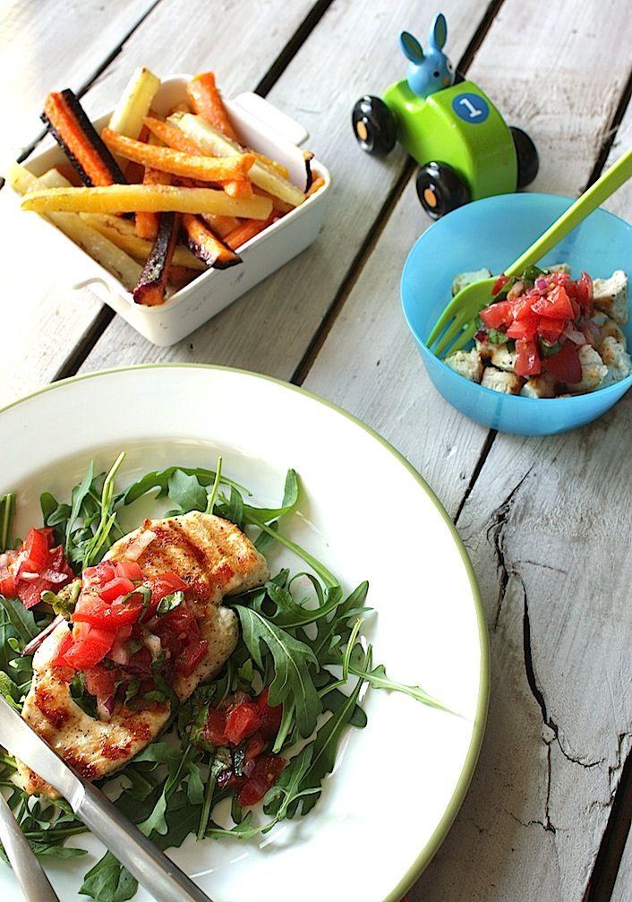 Francesca Kookt_gegrilde kip met tomaat basilicum salsa voor groot en klein_2