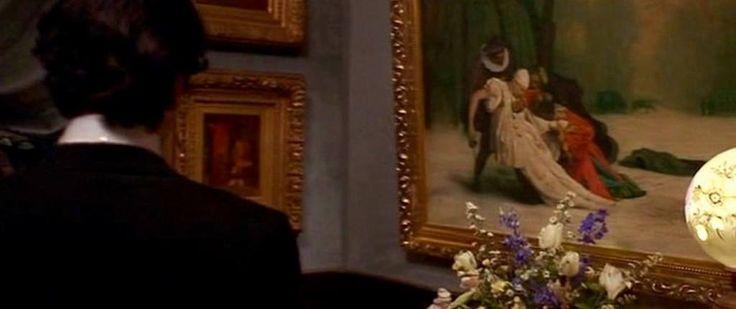 La Edad de la Inocencia. Martin Scorsese,1993.   En el filme aparecen tanto presencias como influencias pictóricas que enriquecen, sin duda, el entramado cinematográfico. La cita directa de la novela de Edith Wharton sirve de anclaje a la película. Scorsese retoma en su trabajo el recurzo de la autora Edith Warton de una narradora omnisciente en tercera persona, la cual encierra en sí misma la clave del desciframiento de las representación visual.