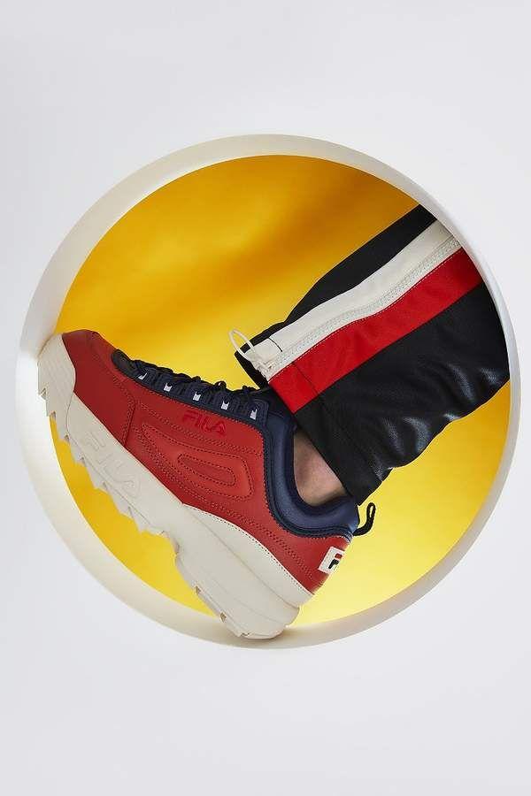 Fila Pierre Cardin Disruptor Sneaker Sneakers Men Fashion New Man Clothing Sneaker Head Men