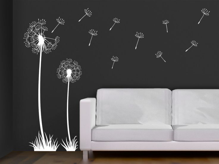 1000 ideas about wandtattoo pusteblume on pinterest. Black Bedroom Furniture Sets. Home Design Ideas