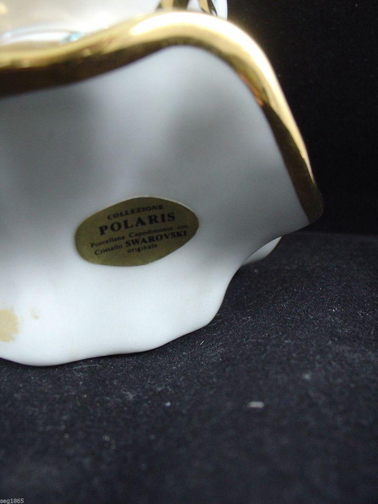 POLARIS CAPODIMONTE PIERROT HEAD WITH SWAROVSKI CRYSTALS | eBay