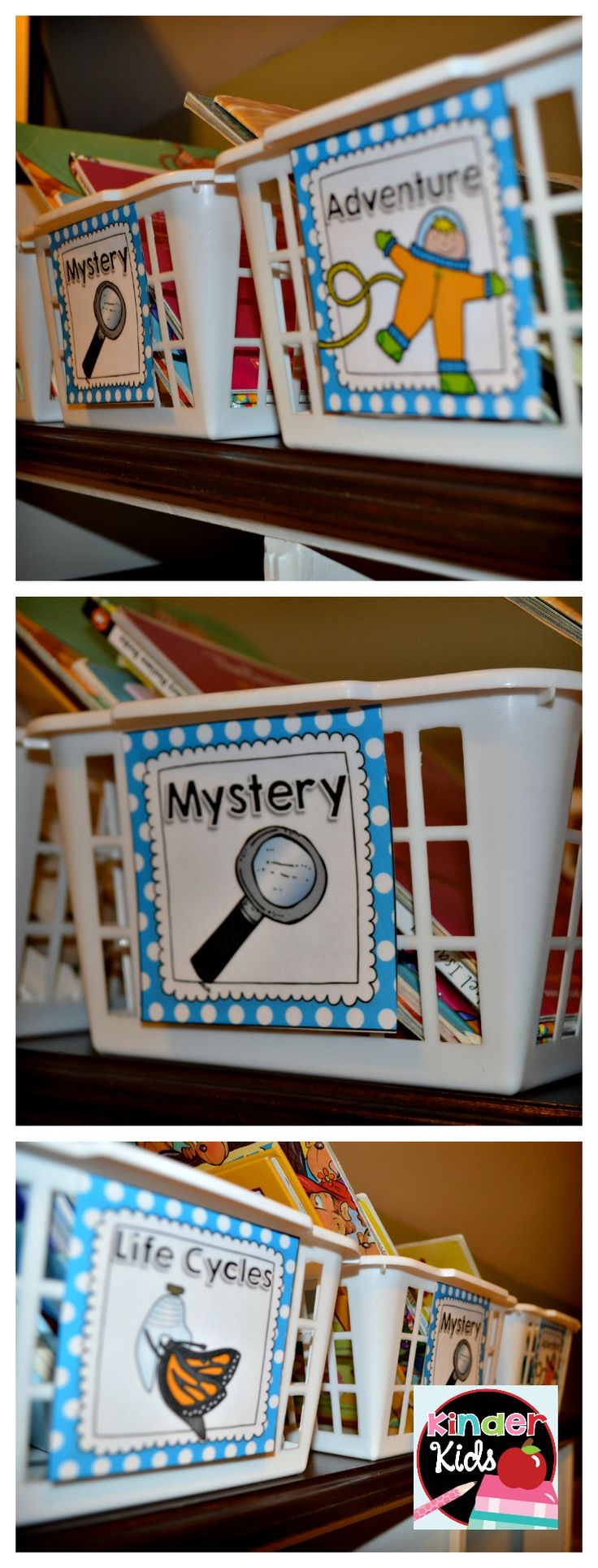Over 198 Book Basket Labels to Organize your Classroom Library {EDITABLE page included}
