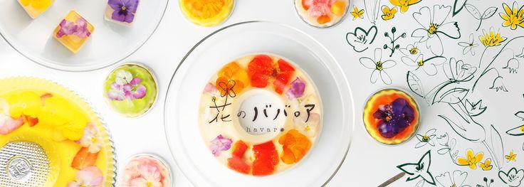 東京土産や母の日の贈り物に 花のババロア havaro