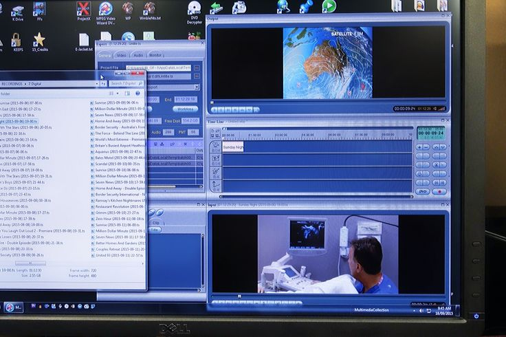 UQ Library has a multimedia section which records programs from free and cable tv, for the use of staff and students.