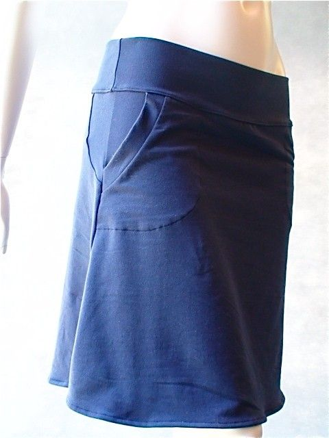 Hipster pocket skirt long or short  organic clothes for by econica, $85.00