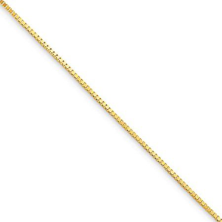 PriceRock Sterling Silver 1.75mm Figaro Chain Necklace 18 Inches