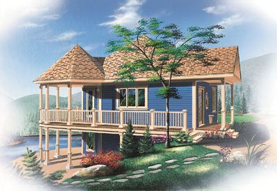 """Monster House Plans has a wide variety of Beach house plans. It belongs to Plan 5-735. In this plan there are 1:Bedrooms Full Baths: 1 Levels/Stories:  1 Total Sq. Ft.: 840 Main floor: 840 Basement: 840 Width: 33' 0"""" Depth: 31' 0"""" Height: 29' 9"""" Walls: 2""""x6"""" Ceiling Height (Main): 9' for more visit : http://www.monsterhouseplans.com/beach-style-house-plans-840-square-foot-home-1-story-1-bedroom-and-1-bath-0-garage-stalls-by-monster-house-plans-plan5-735.html"""