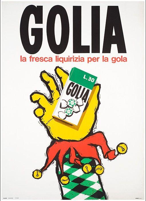 Caramelle Golia anni 1960