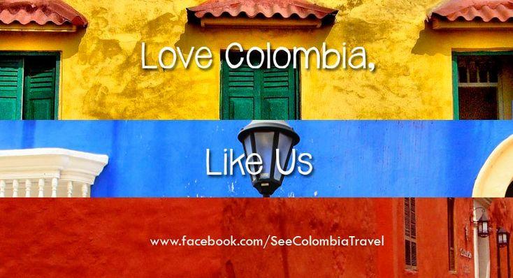 Love Colombia? Like us.   https://www.facebook.com/SeeColombiaTravel