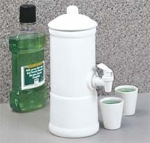 Mouthwash Dispenser-heehee really? maybe it will make little kids use mouthwash more often.. but really? hahahaha!