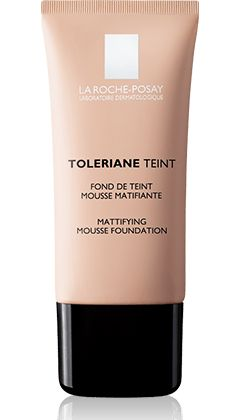 All about Toleriane Teint Mattifying mousse foundation, a product in the Toleriane Teint range by La Roche-Posay recommended for Foundation  and sensitive skin. Free expert advice