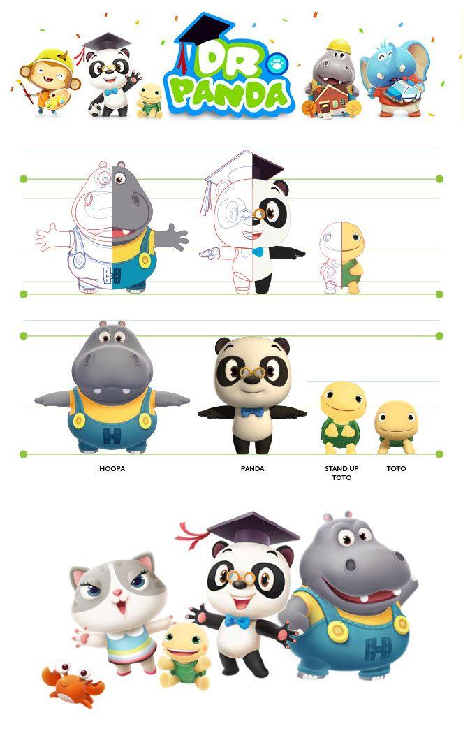 ArtStation - Dr.Panda Character design, Thu Phan