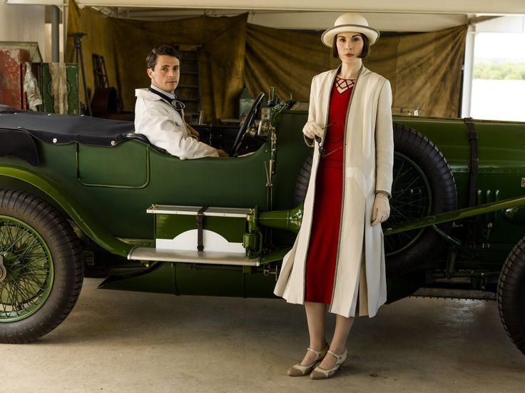 Downton Abbey S6 E7 | Henry & Mary at the racetrack