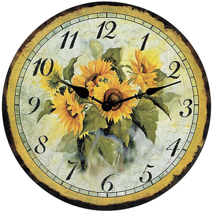 Sunflower Clock (kitchen)