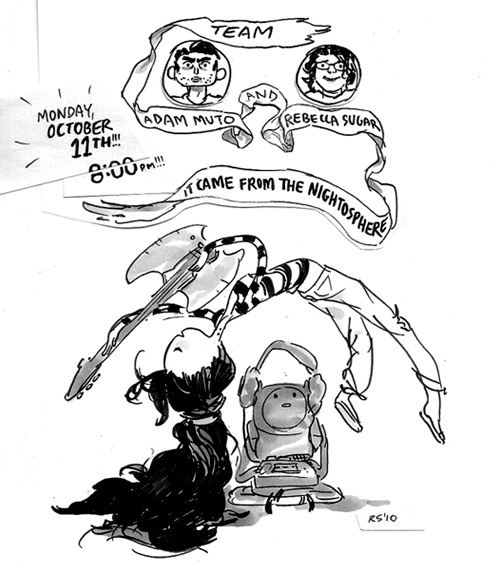 Rebecca Sugar --Adventure time promo art.