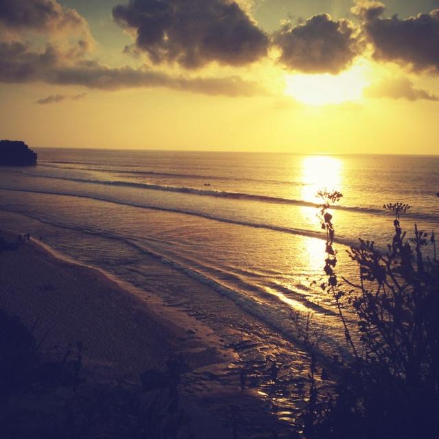Balangan sunset bali