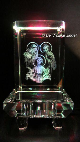"""Laserblok """"Jezus, Maria en Jozef"""" - De Vrolijke Engel"""