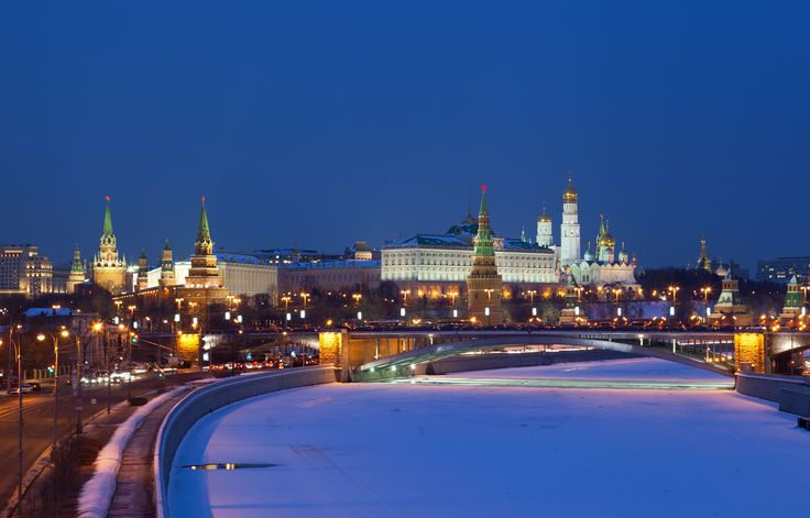 The frozen beauties of Moscow Russia! Pick #Christmas trip to Russia.