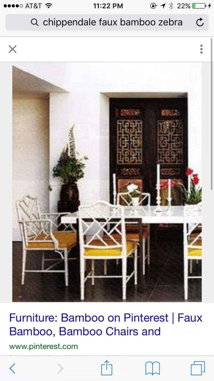Bamboo chippendale chairs - Bamboo Chippendale Chairs 50