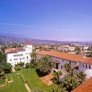 Santa Barbara, CA - where my lovely Stephie is now