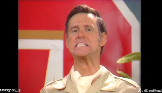 """Jim Carrey """"Cold Dead Hand"""" Spoof"""