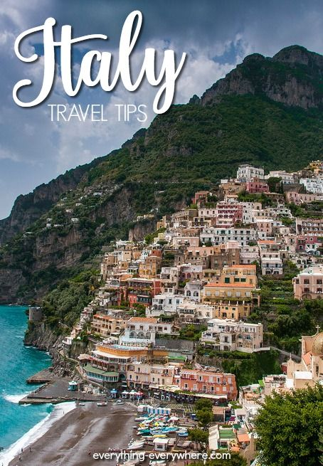 Everything you need to know when planning a trip to Italy, the most beautiful country in Europe!