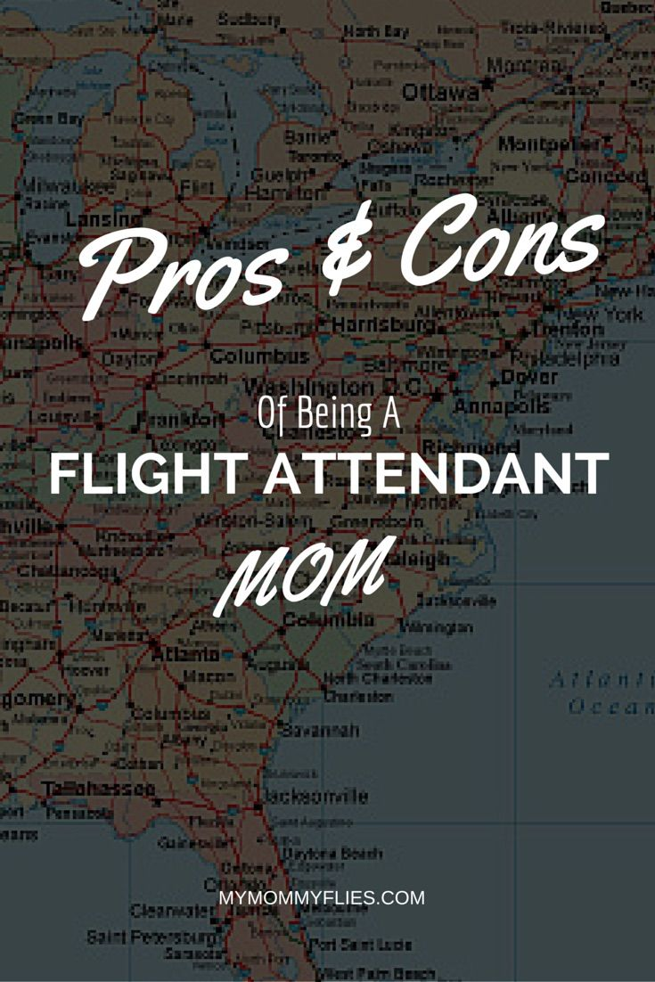 The Pros and Cons of Being a Flight Attendant Mom