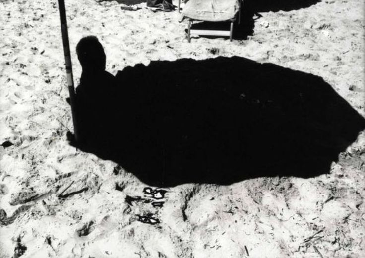 Ray K. Metzker (1931 - 2014) - Sand Creatures Atlantic City, 1973