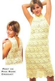 Uncinetto d'oro: Bellissimo abito giallo!!!