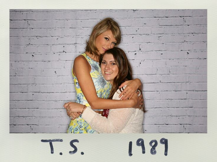 The 270 best loft89 images on pinterest taylor swift taylors taylor with a fan during the pre show meet and greet at the 1989 world m4hsunfo