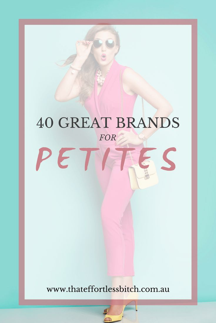 Alarna Hope lists her top 40 brands for petite clothing in Sydney, Australia & Online.