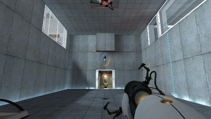 Image result for portal 2 cube gameplay