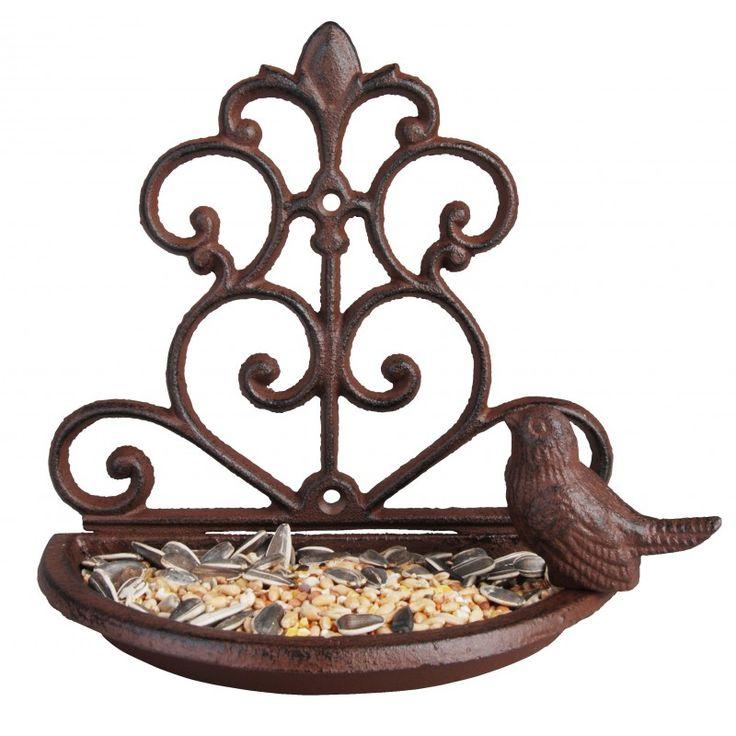 Żeliwny karmnik dla ptaków - cena 49,00 zł • Sklep GardenLove.pl