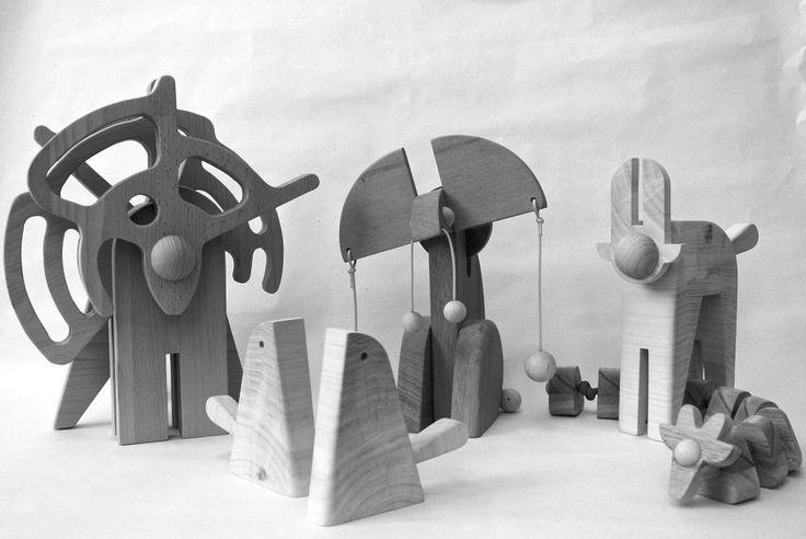 veronika watzková - wooden toys