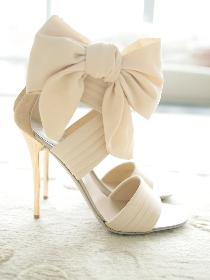 Why am I always so drawn to shoes I cannot possibly wear?!  Beautiful for some bride somewhere though!