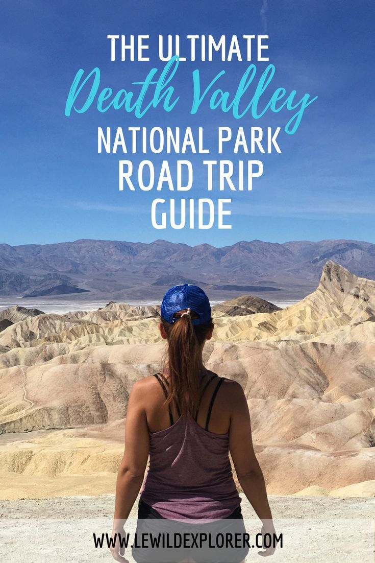 Road Route Map Usa%0A The Ultimate Death Valley Road Trip Guide   Visiting Death Valley   U S   National Parks