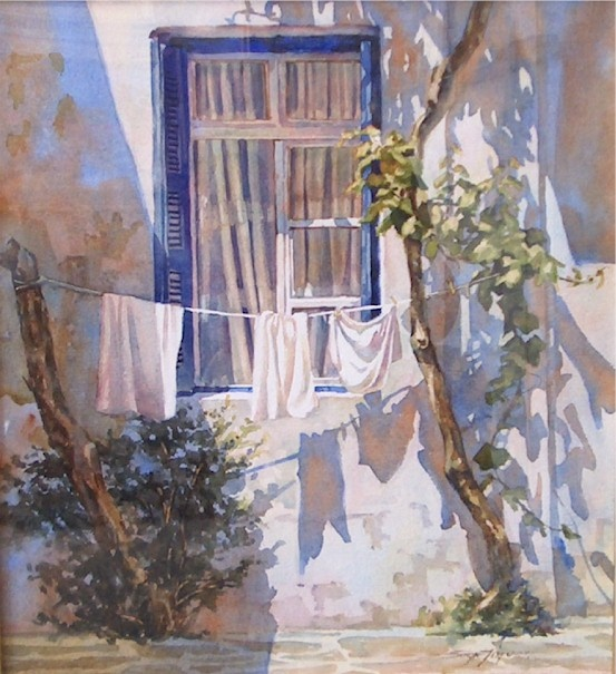 107 Best Laundry Clothes Line Paintings Images On