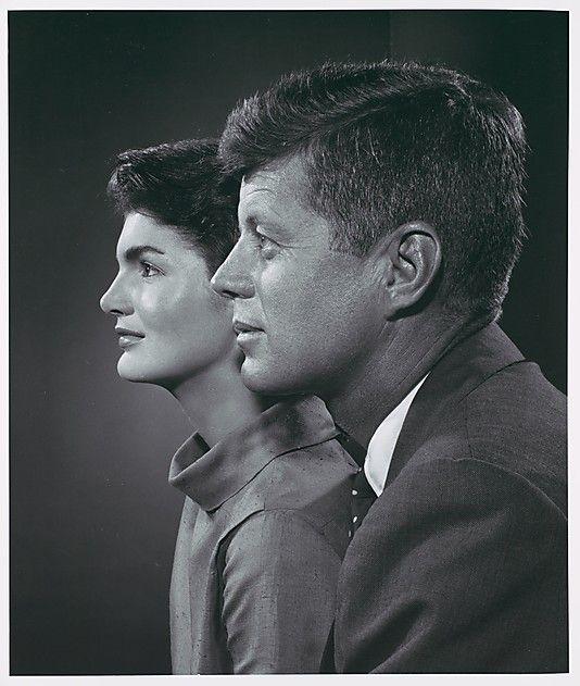John F. and Jackie Kennedy  Yousuf Karsh (Canadian (born Armenia), Mardin 1908–2002 Boston, Massachusetts)