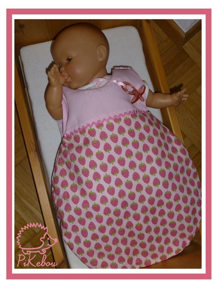 turbulette / gigoteuse pour poupée
