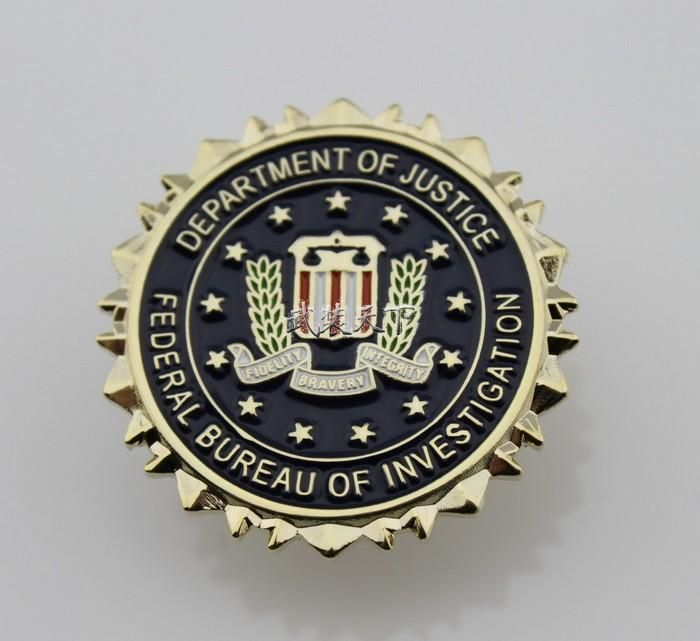 free shipping, $7.04/piece:buy wholesale fbi federal bureau of investigation dept of justice logo seal suit lapel pin on luwisa's Store from DHgate.com, get worldwide delivery and buyer protection service.