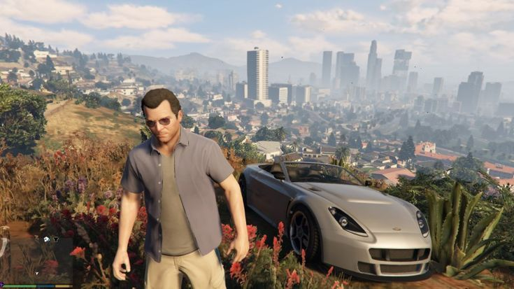 Micheal Gta Grand Theft Auto Series Video Games
